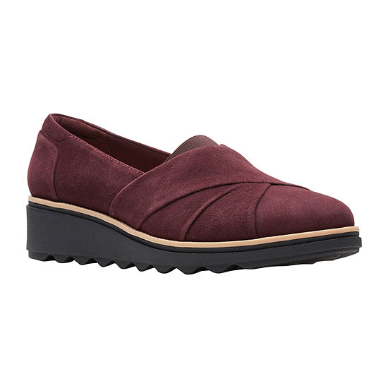 Clarks Womens Sharon Form Slip-On Shoe