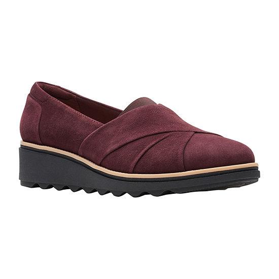 Clarks Womens Sharon Form Slip-On Shoe