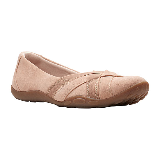 Clarks Womens Haley Jay Slip-On Shoe
