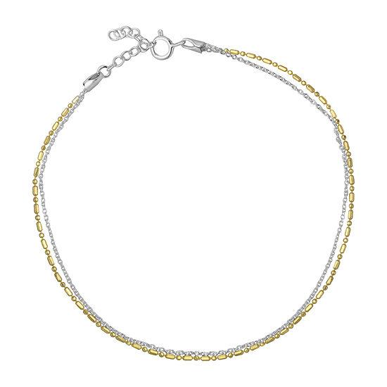 Itsy Bitsy 9 Inch Cable Ankle Bracelet