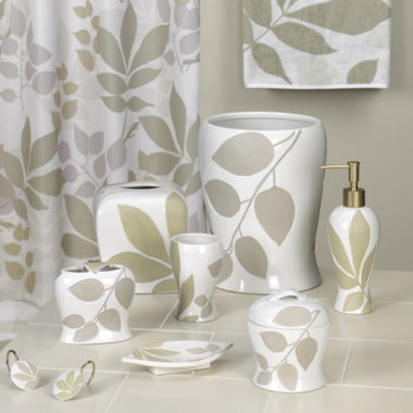 jcpenney.com | Creative Bath™ Shadow Leaves Bath Collection