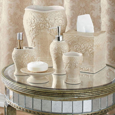 Queen Street® Bianca Damask Bath Collection