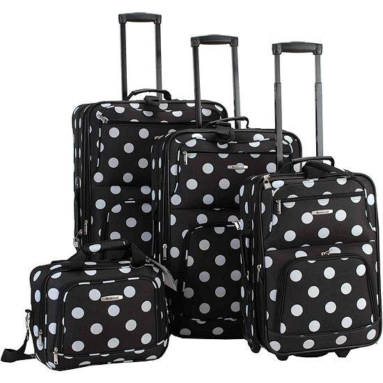 Rockland Galleria 4-pc. Luggage Set