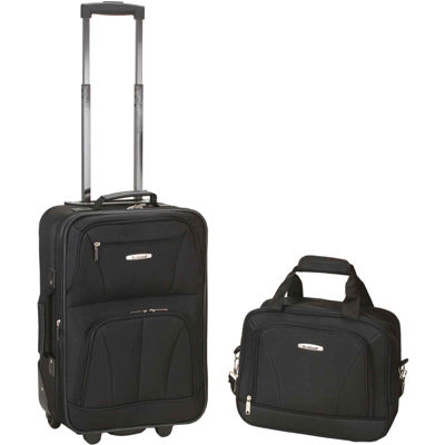Rockland Rio 2-pc. Luggage Set-Camo