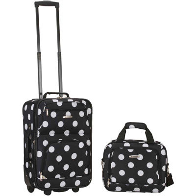 Rockland Rio 2-pc. Luggage Set-Polka Dot