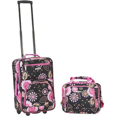 Rockland Rio 2-pc. Luggage Set-Print