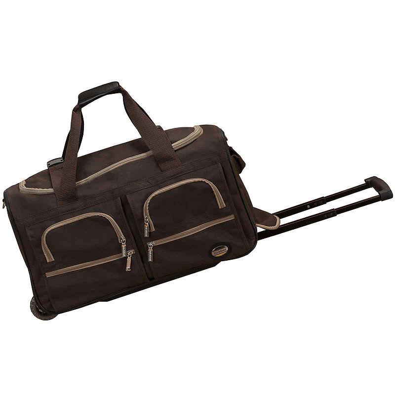 "Rockland 22"" Rolling Duffel Bag"