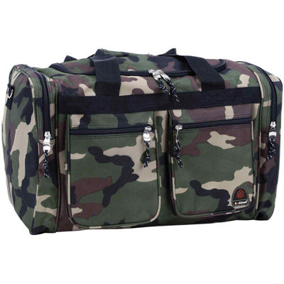 "Rockland 19"" Freestyle Carry-On Camo Duffle Bag"