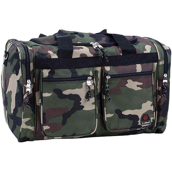 """Rockland 19"""" Freestyle Carry-On Camo Duffle Bag"""