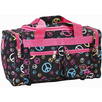 "Rockland 19"" Freestyle Print Carry-On Duffle Bag"