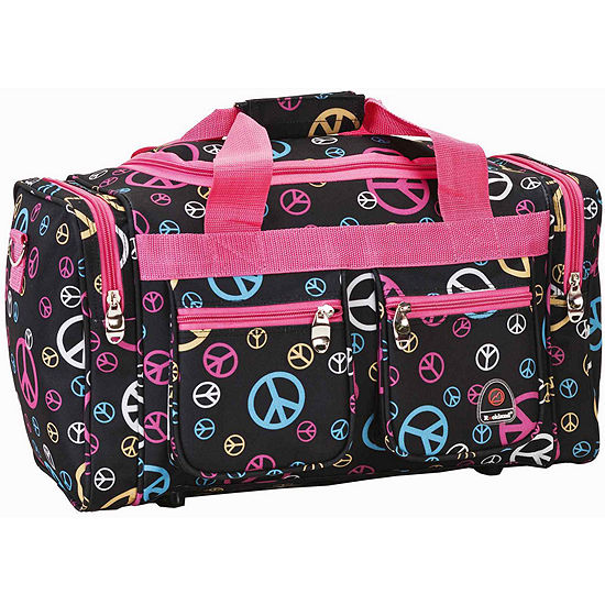"""Rockland 19"""" Freestyle Print Carry-On Duffle Bag"""