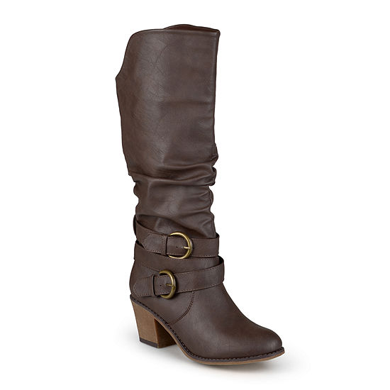 Journee Collection Womens Late Riding Boots
