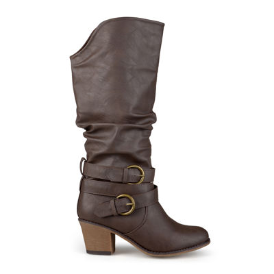 Journee Collection Late Womens Riding Boots - Wide Calf