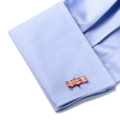Bacon and Egg Cuff Links
