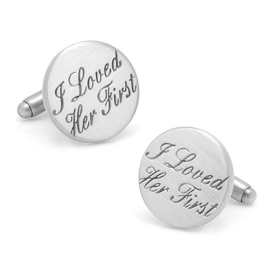 I Loved Her First Cuff Links