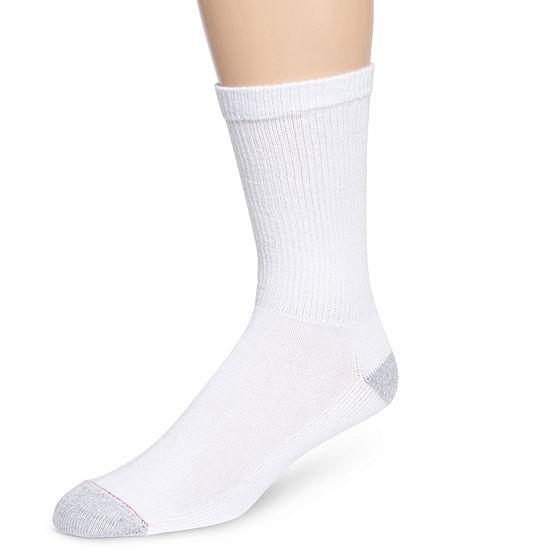Hanes® Mens 10-pk. Cushioned Foot Crew Socks