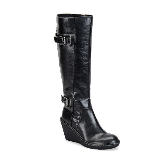 Eurosoft Womens Riding Boots Wedge Heel