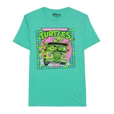 Teenage Mutant Ninja Turtles Short-Sleeve Crewneck Bus Tee