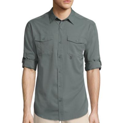 Columbia Sportswear Co.® Pacific Breeze™ Long-Sleeve Woven Shirt