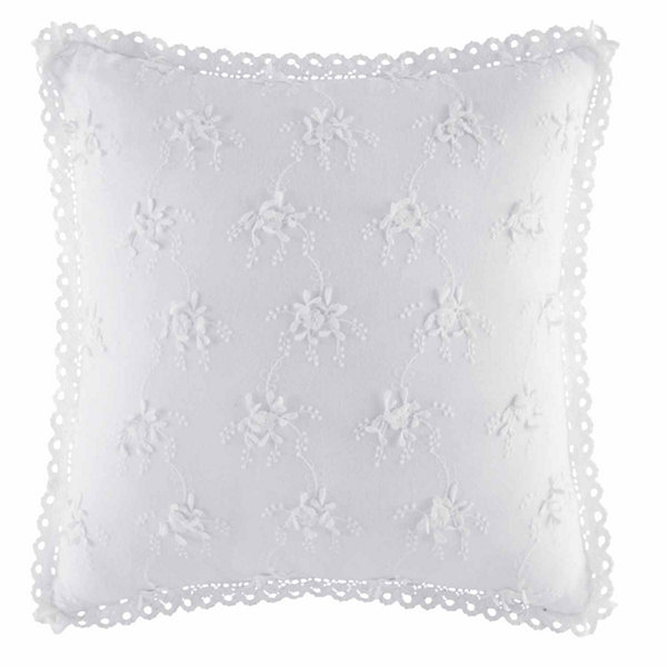 Queen Street Rosalind 17X17 Inch Square Decorative Pillow