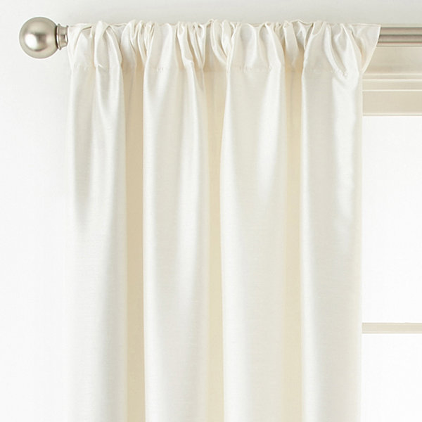 Liz Claiborne Westfield Room-Darkening Rod-Pocket/Back-Tab Curtain Panel