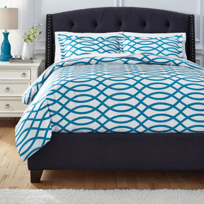 Signature Design by Ashley Leander 3-pc. Duvet Cover Set