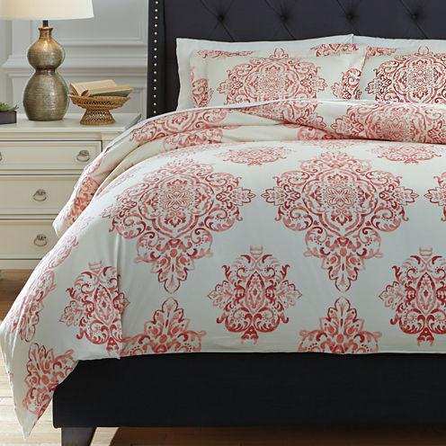 Signature Design by Ashley® Fairholm 3-pc. Duvet Cover Set