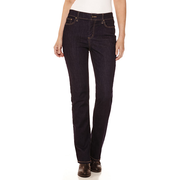 a810ce510ff Compared to Similar Items. Current Product. St. John s Bay® Secretly  Slender Straight-Leg Jeans