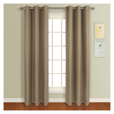 United Curtain Co. Mansfield Grommet-Top Curtain Panel