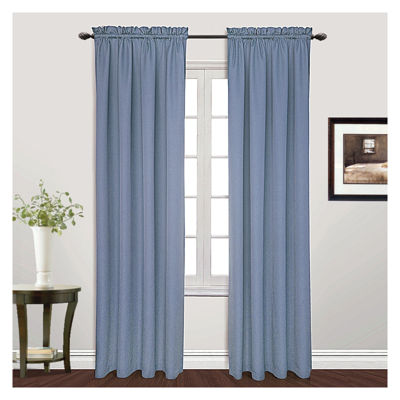 United Curtain Co. Metro Rod-Pocket Curtain Panel