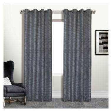 United Curtain Co. Brighton Grommet-Top Lined Curtain Panel