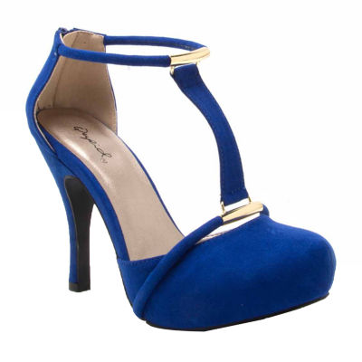 Qupid Trench-339 Womens Pumps