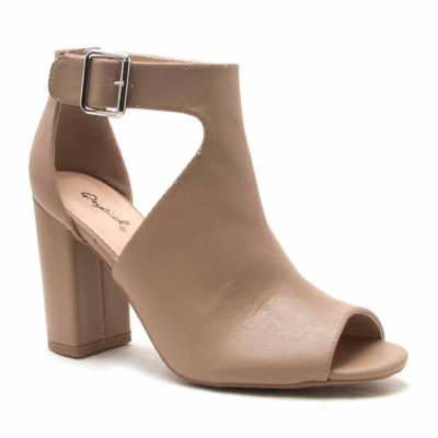 Qupid Chester 66 Womens Heeled Sandals