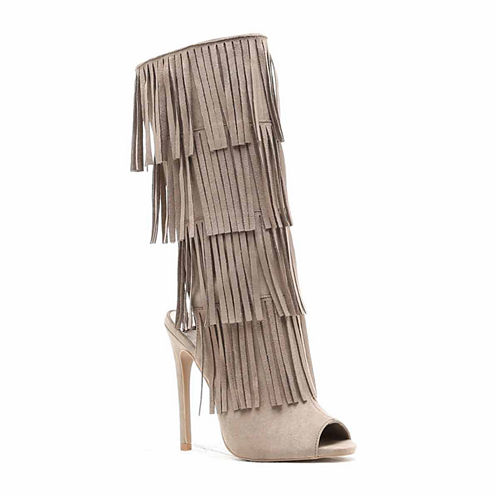 Qupid Glee-168 Womens Dress Boots