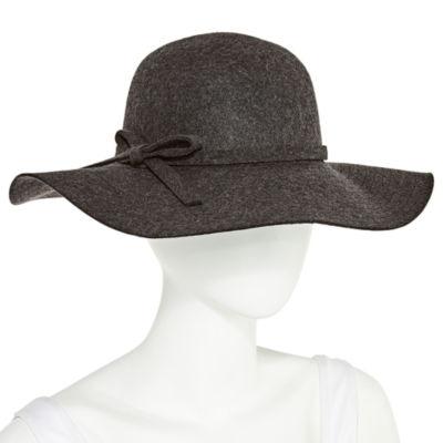 Scala Stitch Brim Bow Floppy Hat