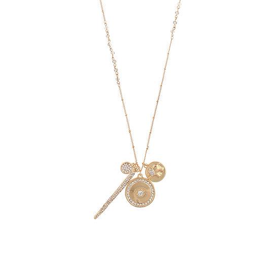 Decree 18 Inch Round Pendant Necklace
