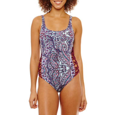 a.n.a Paisley One Piece Swimsuit