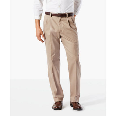 Dockers Easy Khaki Classic Fit Pleated Pants