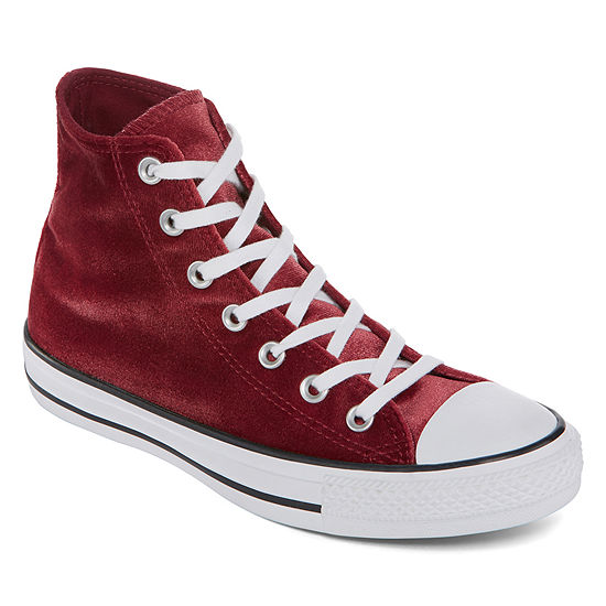 643d8a01427a Converse Chuck Taylor All Star High Top Velvet Womens Sneakers JCPenney