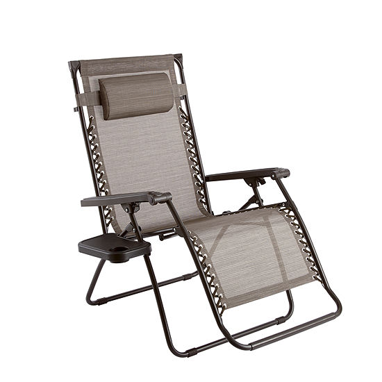 Outdoor Oasis Melbourne Oversized Zero Gravity Patio Lounge Chair