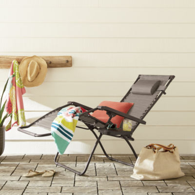 Outdoor Oasis Melbourne Zero Gravity Sling Patio Lounge Chair