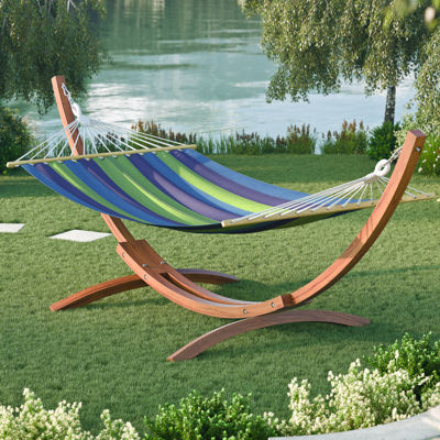 CorLiving Wood Canyon Free-Standing Patio Hammock
