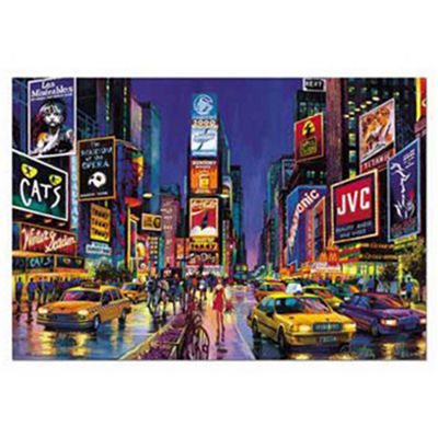 Educa Neon Times Square: 1000 Pcs