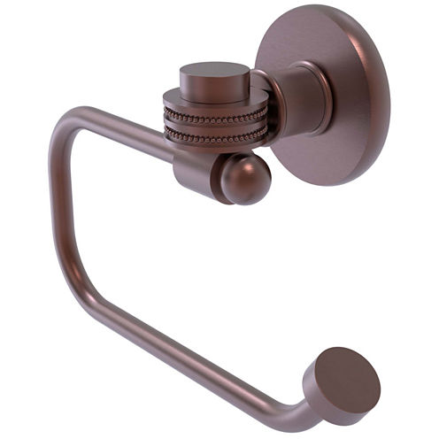 Allied Brass Continental Collection Euro Style Toilet Tissue Holder with Dotted Accents