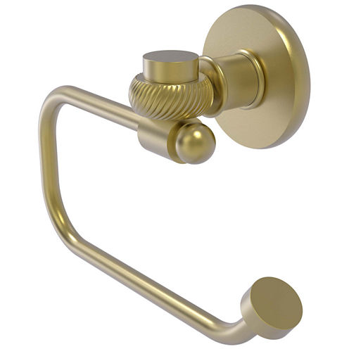 Allied Brass Continental Collection Euro Style Toilet Tissue Holder with Twisted Accents