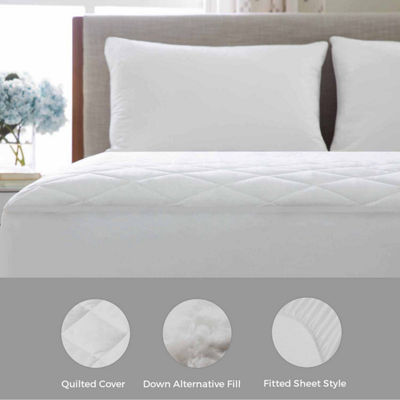 LINENSPA Plush Microfiber Mattress Pad