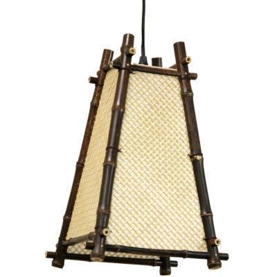 """Oriental Furniture 14"""" Itashi Japanese Hanging Lantern"""