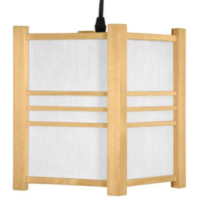 """Oriental Furniture 8.5"""" Genki Japanese Hanging Lantern"""