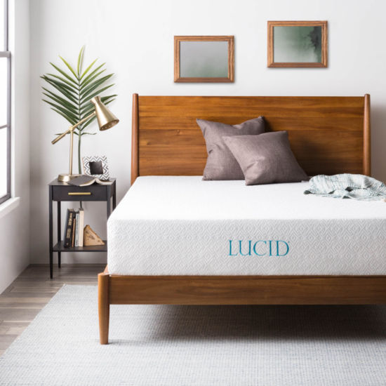 Lucid 12 Inch Gel Memory Foam Mattress