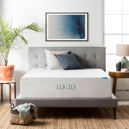 Lucid 14 Inch Memory Foam Mattress